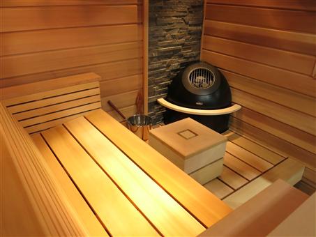 crystal utah designer sauna