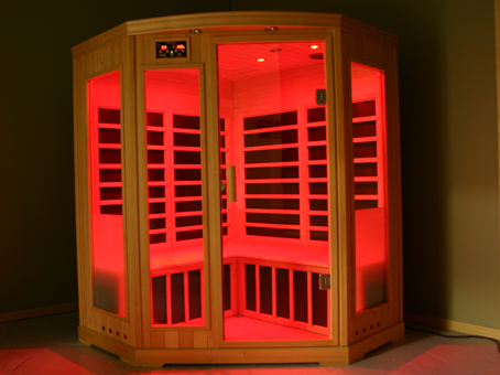 crystal utah finnleo color therapy sauna