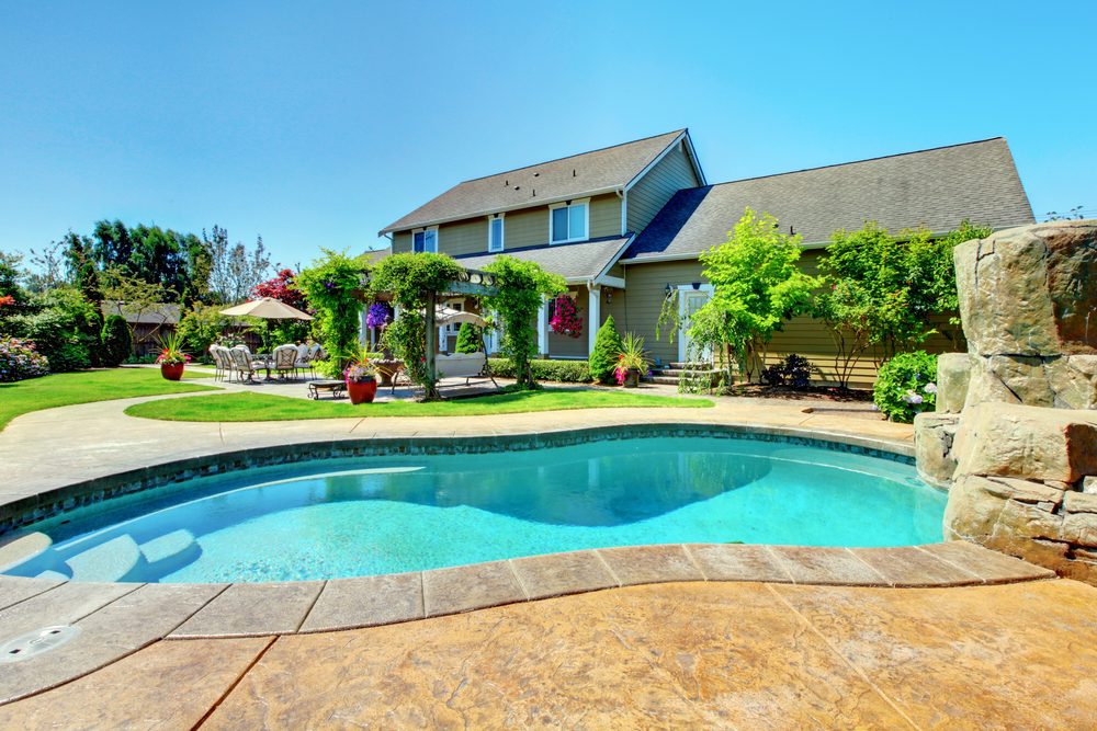 Surround Your New Pool with Concrete Decking | Crystal Pools & Spas